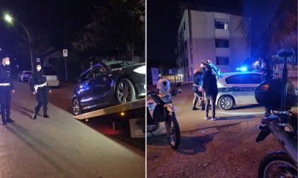 Controlli della polizia locale: fermati due pregiudicati e accertamenti su 50 persone