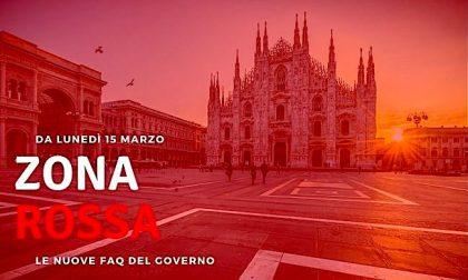 Zona rossa in Lombardia: aggiornate le FAQ del Governo. Domande e riposte