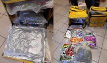 Finti rider consegnavano droga a domicilio: arrestati a Milano