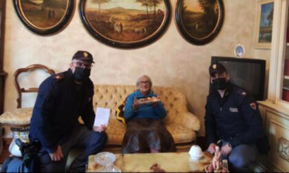 Nonnina 94enne chiama la Polizia per un finto furto, ma voleva compagnia