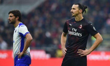 Milan-Sampdoria: innesco per Pioli
