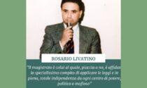 Una strada a Cesano per Rosario Livatino, magistrato ucciso dalla mafia