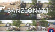 Rifiuti abbandonati in strada: individuati e sanzionati 10 incivili