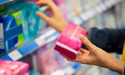 Prezzi ridotti per gli assorbenti femminili: l'impegno di Cesano