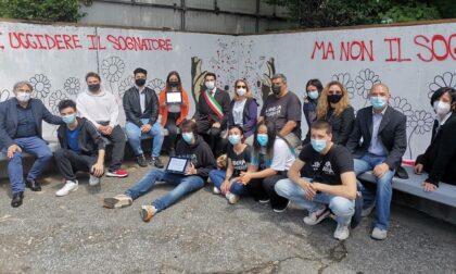"""A Corsico il murale dedicato alle vittime di mafia: """"Non li avete uccisi"""""""