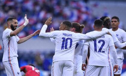Francia - Germania: atmosfera da finale