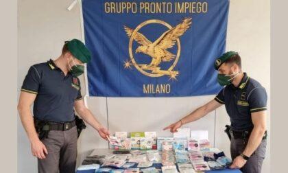 Sequestrate oltre 100mila mascherine contraffatte: denunciati