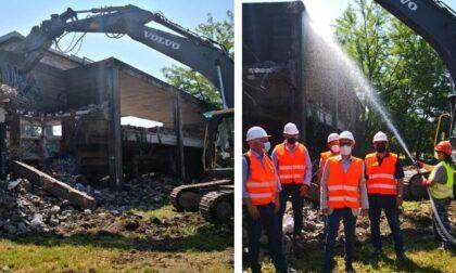 Struttura abbandonata di via Morona: inizia la demolizione e riqualificazione dell'area