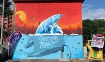 Save the planet: il murale a Robarello per tutelare l'ambiente