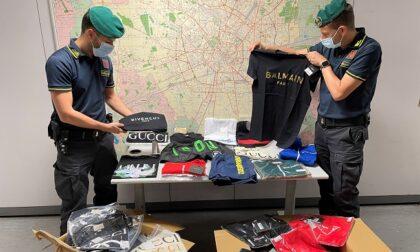 Vestiti griffati contraffatti: maxi sequestro della Guardia di Finanza per oltre 450mila euro