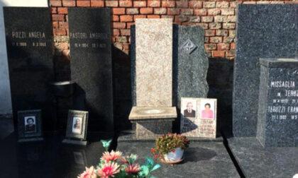 I ladri di bronzo al cimitero si portano via pure il mezzobusto di Gesù