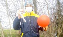 Dalla scuola dell'infanzia di Cesano il palloncino dei desideri arriva a Bergamo