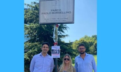 """Un fiore per Borsellino da FdI: """"Cesano, come sempre, non ne celebra il sacrificio"""""""