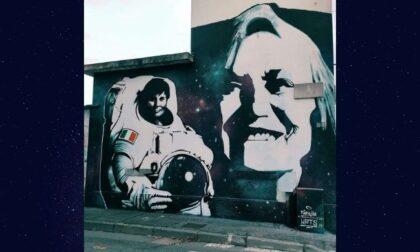 Donne Spaziali: a Buccinasco il murale dedicato a Cristoforetti e Hack