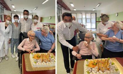 Auguri alla signora Giulia di Buccinasco: compie 102 anni