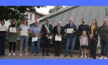 Premio Castellum, assegnate le benemerenze civiche a Buccinasco