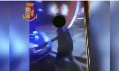 Danneggiano l'auto della polizia e pubblicano il video su Instagram: un arresto e due denunce
