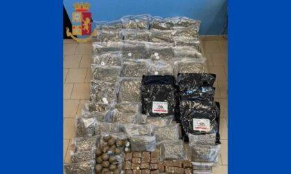 Arrestato a Cesano Boscone con 60 chili di droga in box