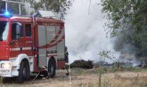 Incendio all'area ex Pozzi: indagini in corso per individuare i responsabili dell'abbandono di sfalci