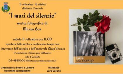 """""""I muri del silenzio"""", una mostra ad Assago promossa da Giusy Versace contro la violenza sulle donne"""