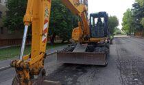 Nuovi asfalti: quindici giorni di cantiere per via Curiel