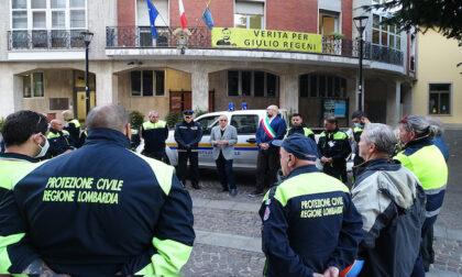 Un nuovo pick-up per la Protezione civile di Cesano Boscone