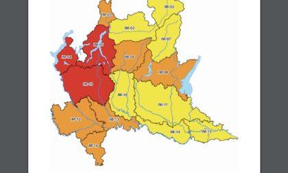 Maltempo: allerta rossa su Milano per rischio idrogeologico